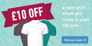 Shirt Amnesty -  £10 off a new shirt